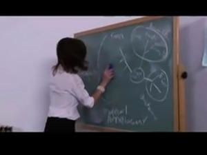Mature teacher seduced by her student
