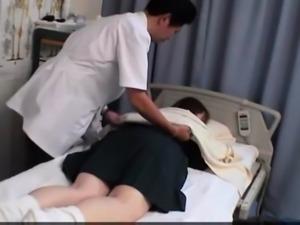 Japanese Woman get a massage an ... free