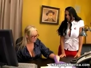 naughty office abbey nina mercedez