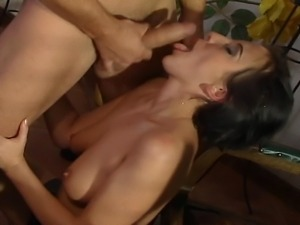 Married couple is having a romantic dinner 'that ends with hardcore sex on...