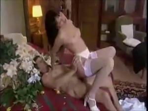 Erotic gorgeous bride