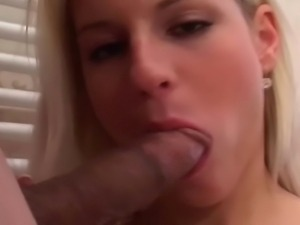 Slutty young bitch adores cum on her beautiful face...