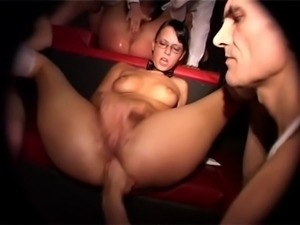 german swinger girl fisted in orgy