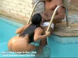 Couple Fucked At  Swimming Pool free