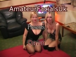 Amateur facials Uk Dawn 2 free