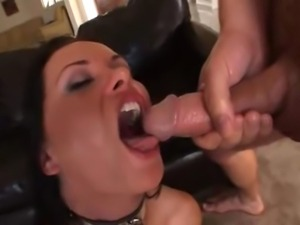 27 year old from Germany with phat 36 inch ass does anal, DP, and swallows a...