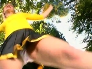 cheerleader Kitty Marie fucking her boyfriend