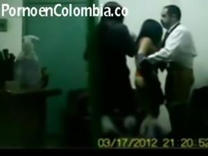 Pareja colombiana en buen video ... free