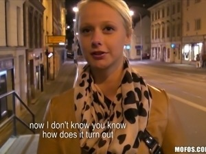 Cute czech teen anals for cash street pickup