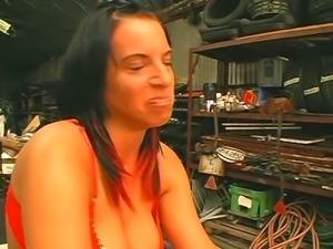 Mandy Blue Fuck Machine