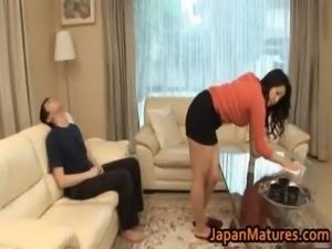 Ayane Asakura Asian MILF has a big sexy free