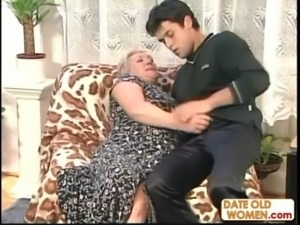 Granny Fucks A Younger Man free