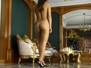 Perfectly shaped, beautiful, young, ass fucking and taking facial