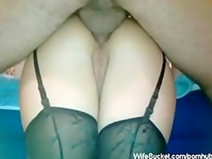 anal sex in stockings