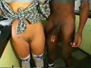 Black Cock For A Horny Blonde free