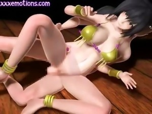 Animated getting laid on the floor