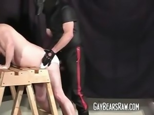 Naughty gay bear fetish fuck