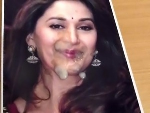 Bollywood cumshot - tribute to Madhuri Dixit