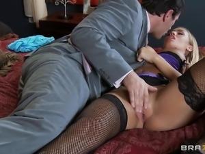 gorgeous milf wife prepares for sex