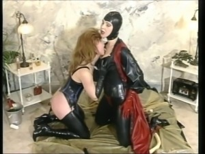 German Rubber Ladies taking turns