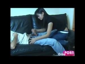 Pinay Handjob on a Sleeping Guy | CebuPorn.com free