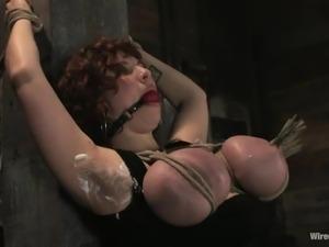 princess donna gives mariah cherry pain and pleasure!