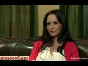 Maledom BDSM Curvy Slave in Stockings