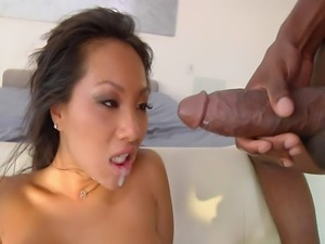 24 year old Asian with 32C tits and a 32 inch ass does vag only threesome...