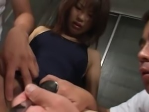 Hardcore Japanese fucking in prison