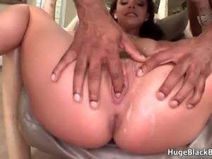 Busty brunette babe goes crazy sucking part4