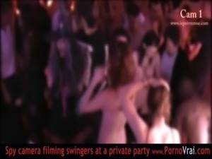 French Swinger party in a private club part 04 free