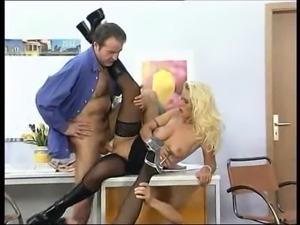German secretaries in the office fuck