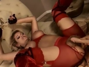 Carmen luvana gets tied up and fucked