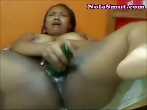 Black Ebony MILF Pussy Squirts