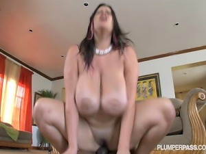 Sexy Latina Pornstar Angelina Castro Fucks Big Black Cock
