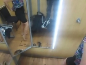 Dressing Room Blowjob in Walmart dressing room free