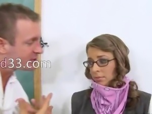 innocent schoolmate punish the teacher
