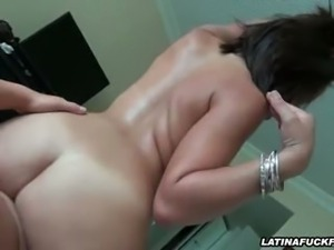 Curvy Latina Fucked In All Positions