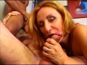 sr couple have bi threesome with youmg big cock