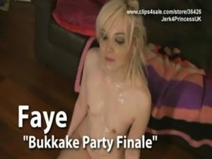 Faye - Virtual Bukkake Joi free