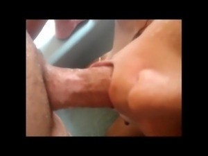 25 yo mixed wife sucks GREAT dick in shower free