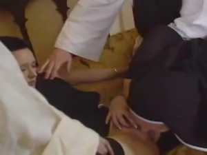 Full Length Fuck Film With Dirty Naughty Nuns Getting Banged In Their Holy Asses