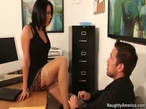 Office lady Rachel Starr free