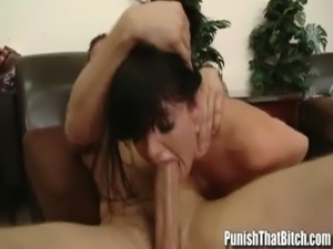 Petite Teen Sadie West Rough Deep Throat Fuck Punishment -...