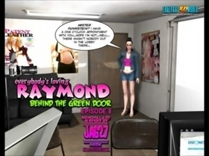 3D Comic: Raymond. Behind The Green Door. Episode 8 free