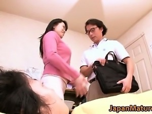Miki Sato aroused real asian mum