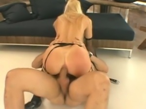 Blonde slut christina lee hardcore anal