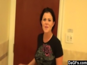Loni Evans Blows In Public Bathroom free