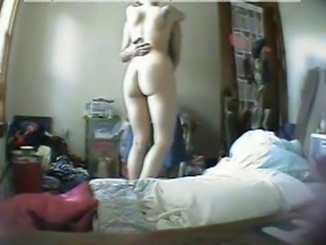 Hidden Cam in Bedroom 15