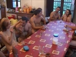 Spanish wild sex party